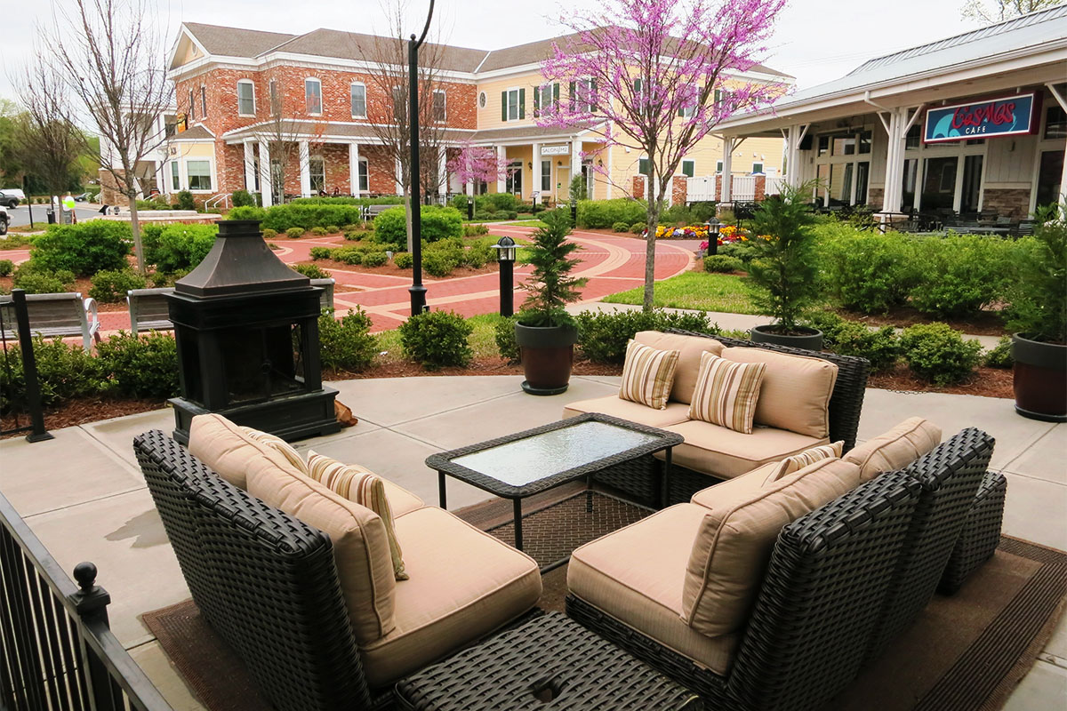 Outdoor Seating Restaurants In Charlotte Nc