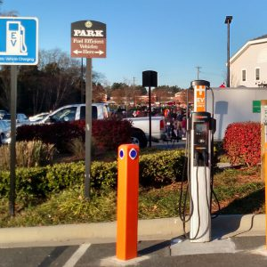 Village At Robinson Farm Electric Car Charging Station Charlotte NC